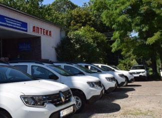 Рогатинські амбулаторії отримали новенькі службові авто ФОТО