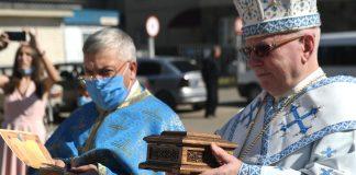До франківського храму привезли мощі святого апостола Андрія Первозванного ФОТО