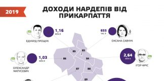 Мерседес та багата теща: як живуть нардепи від Прикарпаття: Інфографіка