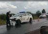 На Франківщині авто патрульних потрапило в ДТП ВІДЕО