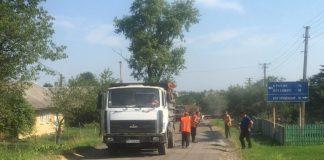 На Прикарпатті розпочали ремонт проблемної ділянки дороги