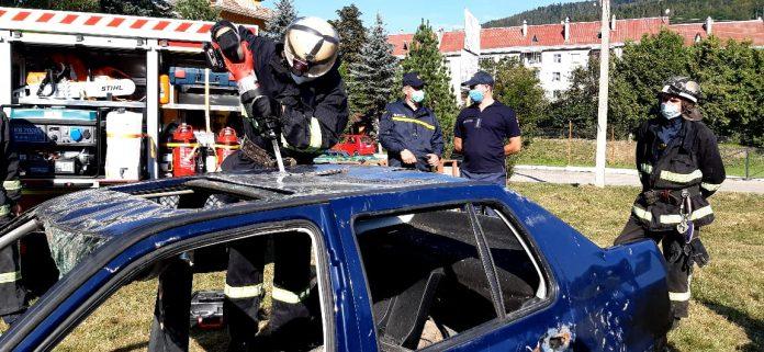 Яремчанські рятувальники провели навчання ФОТО