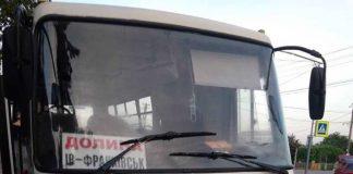 Прикарпатка скаржиться на поведінку водія маршрутки, який облаяв її та бійця АТО ФОТО