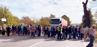 Мешканці села на Калущині знову планують перекривати дорогу регіонального значення