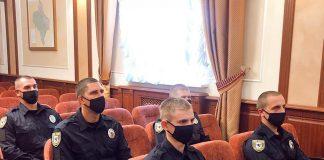 Новобранці прикарпатської поліції склали присягу на вірність народові України ФОТО