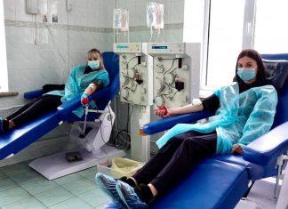 Прикарпатські поліцейські стали донорами крові