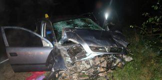 На Прикарпатті водій вантажівки не впорався з керуванням, внаслідок цього відбулося зіткнення з легковиком ФОТО