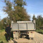 На Прикарпатті виявили факт незаконного перевезення піщано-гравійної суміші