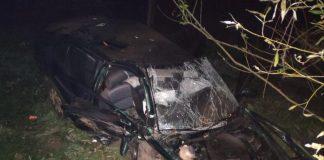 Нетверезий водій-утікач, через якого у ДТП на Прикарпатті загинув пасажир і ще один без свідомості, сам здався поліції