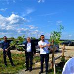 У Ланчинській ОТГ з'явилась алея громад Прикарпаття