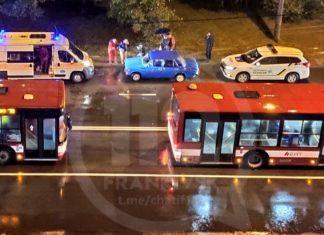 У Франківську 19-річний хлопець на перехресті збив жінку