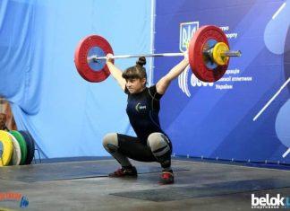 Прикарпатська спортсменка перемогла на чемпіонаті України з важкої атлетики