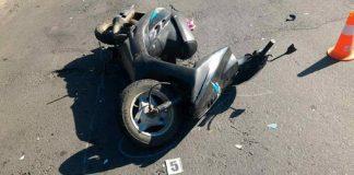 На Франківщині мінівен протаранив скутер
