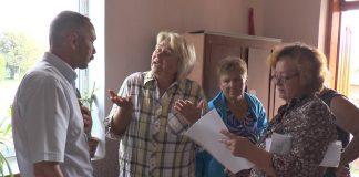 На Коломийщині люди незадоволені виплатами постраждалим від червневого паводку ВІДЕО