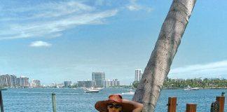 Прикарпатська ТОП-модель Олеся Стефанко показала свій відпочинок у Маямі
