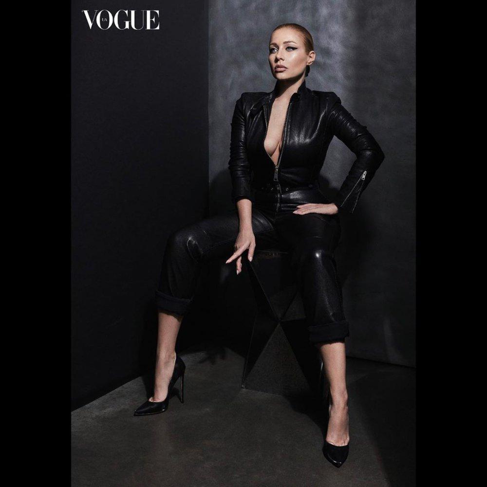 Зіркова франківка Тіна Кароль знялася в провокаційній фотосесії для модного журналу ФОТО