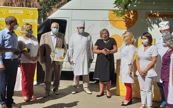 Бурштинська районна лікарння отримала апарати ШВЛ від Фонду Ахметова