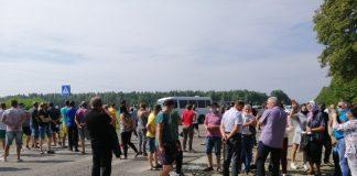 Мешканці прикарпатського села протестують проти входження до складу Калуської ОТГ