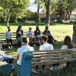 На Коломийщині учні ліцею навчаються на свіжому повітрі
