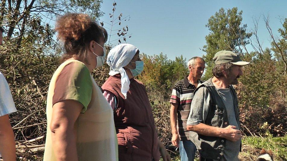 10 мільйонів у воду. Мешканці села на Коломийщині протестують проти укріплення дамби ФОТО та ВІДЕО
