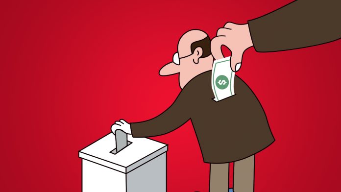 «Нова гречка» та польоти на повітряній кулі. Як політики купують виборців. Фото