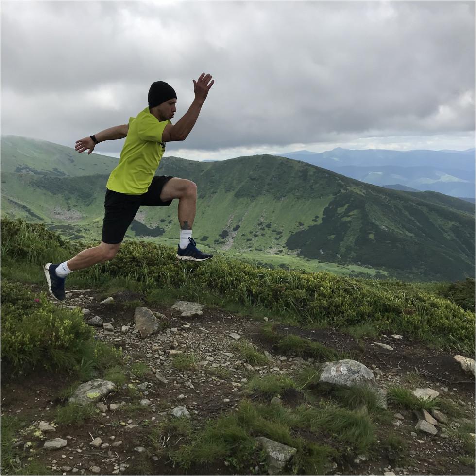 Здолати Карпати: як бігун-марафонець підкорював українські гори