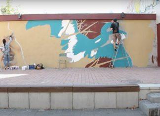 На вулиці Шевченка у Франківська оживає антична скульптура ВІДЕО