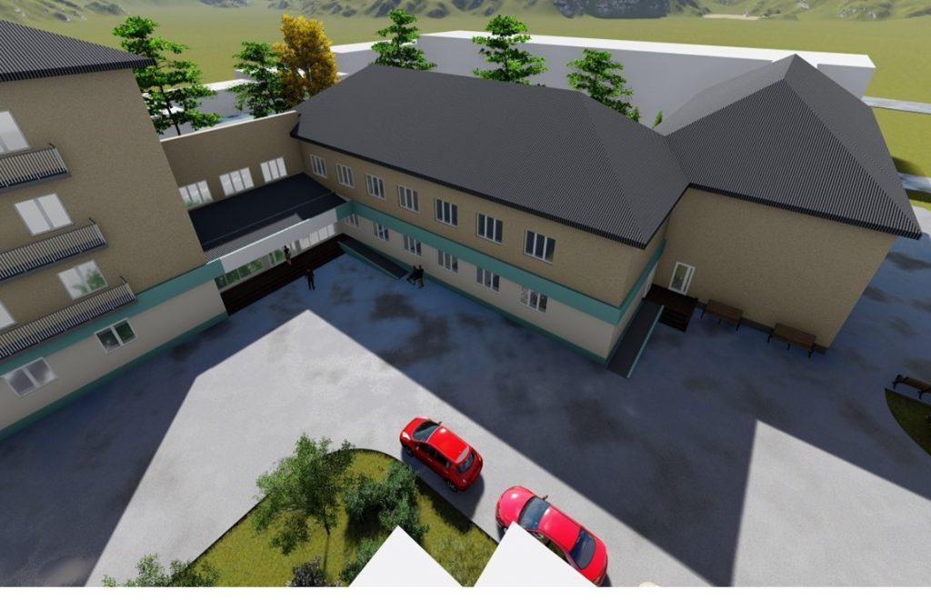 У Надвірнянській лікарні реконструюють приймальне відділення ФОТО