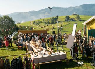 У Карпатах розпочалися зйомки фільму в якому зіграє Ірма Вітовська