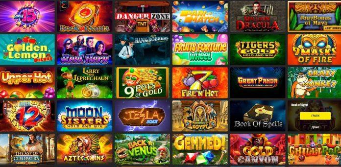 Ігрові автомати онлайн безкоштовно в казино Паріматч