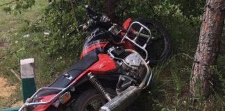 Цієї ночі на Прикарпатті мотоцикліст на швидкості врізався у бетонну трубу - постраждала неповнолітня пасажирка