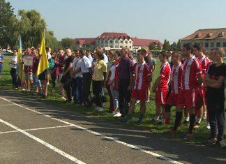 В селі на Коломийщині влаштували спортивні змагання ВІДЕО