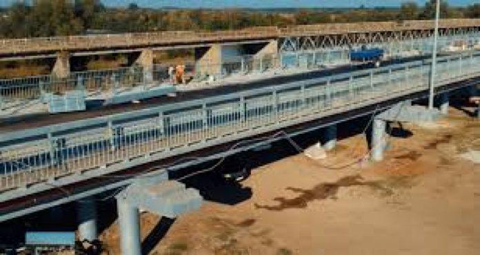 На Прикарпатті завершили будівництво мосту