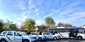Прикарпатські поліцейські отримали нові службові автівки