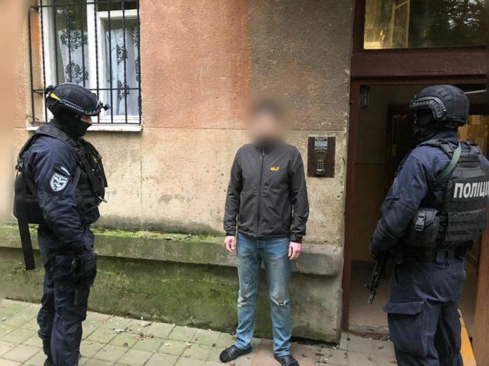 У Франківську спіймали чоловіка, який обікрав офіс журналістів ФОТО