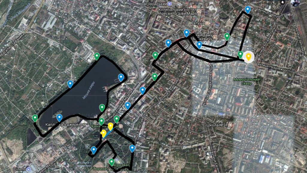 Через півмарафон у Франківську перекриють рух автотранспорту: схема