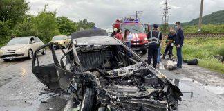 В ДТП на Прикарпатті загинули двоє людей, ще трьох госпіталізували до лікарні
