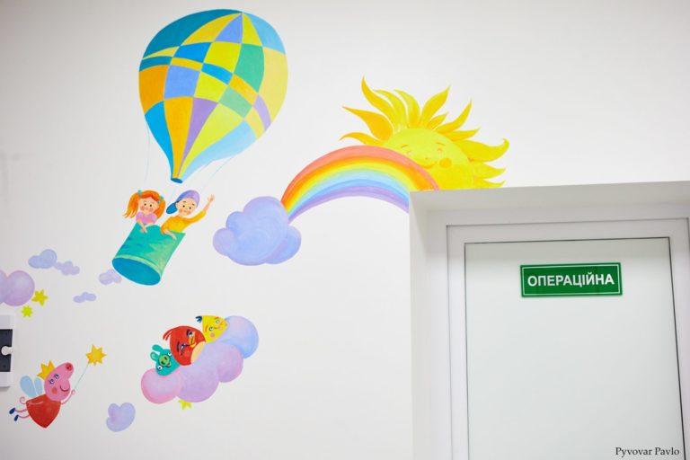 У дитячій поліклініці на Тичини відкрили оновлений кабінет ФОТО
