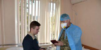 Єдиний вцілілий у авіакатастрофі під Харковом курсант вирішив продовжити навчання за обраною військовою спеціальністю