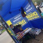 У Франківську «свободівські» агітатори напали на конкурентів ВІДЕО