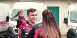 Медики «швидкої» запальним танцем відзначили річницю від дня заснування станції у Франківську ВІДЕО