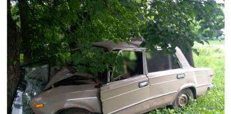 На Франківщині автівка вилетіла з дороги та врізалась у дерево - 23-річний водій помер у лікарні