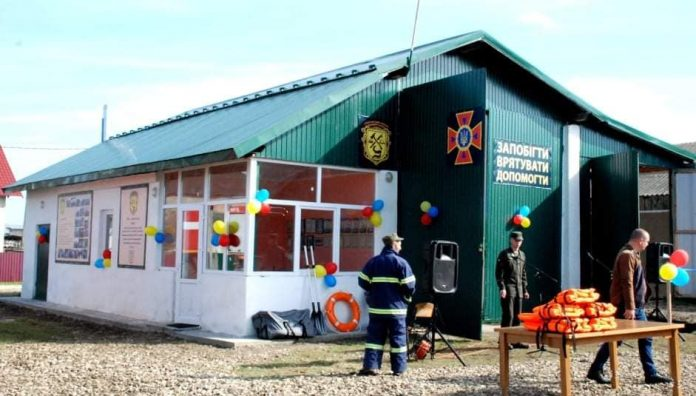 У Лисецькій ОТГ відкрили пожежне депо ФОТО