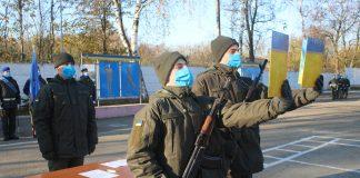 В Івано-Франківську понад 60 нацгвардійців присягнули на вірність українському народу ФОТО