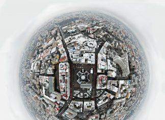 Франківський фотограф поділився неймовірною світлиною міста