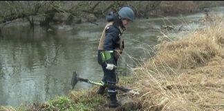 В Рогатині, на березі Гнилої Липи, виявили небезпечну знахідку
