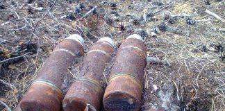 Вчора на Прикарпатті знешкодили 40 вибухонебезпечних предметів