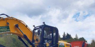 У Карпатах тривають роботи з відновлення дорожньої мережі