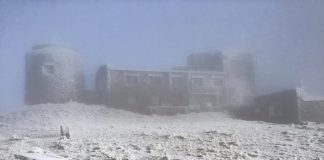 Карпати засніжило й накрило туманом ВІДЕО