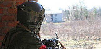 На полігоні в передмісті Івано-Франківська проводяться навчання Національної гвардії